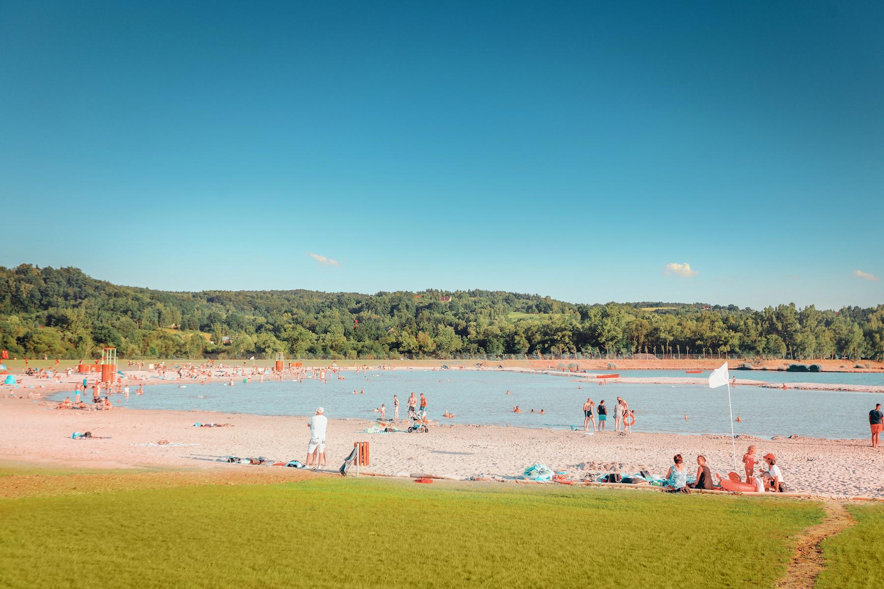 Koniec sezonu letniego na Plaży Kuter Port