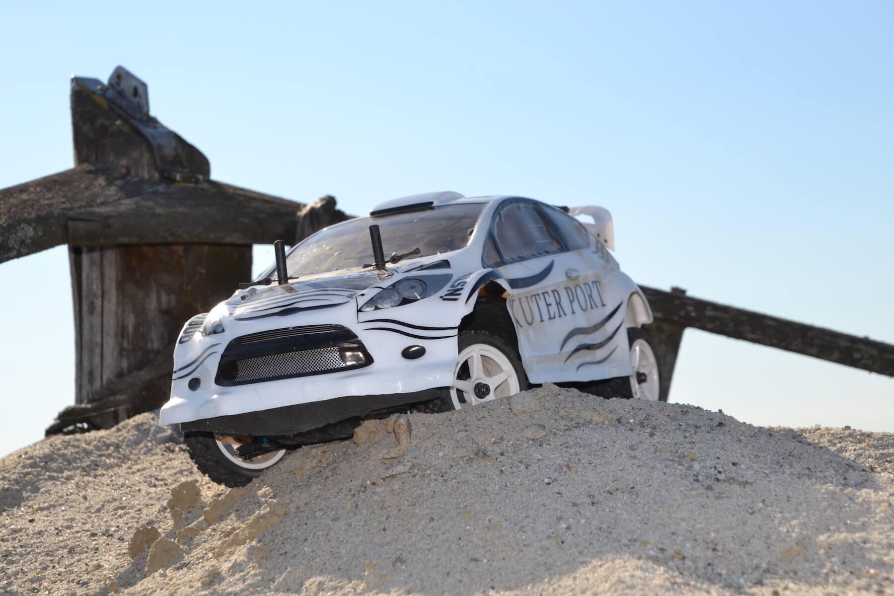 Model pojazdu Ford Fiesta WRC najlepszy w Rajdzie na Plaży Kuter Port