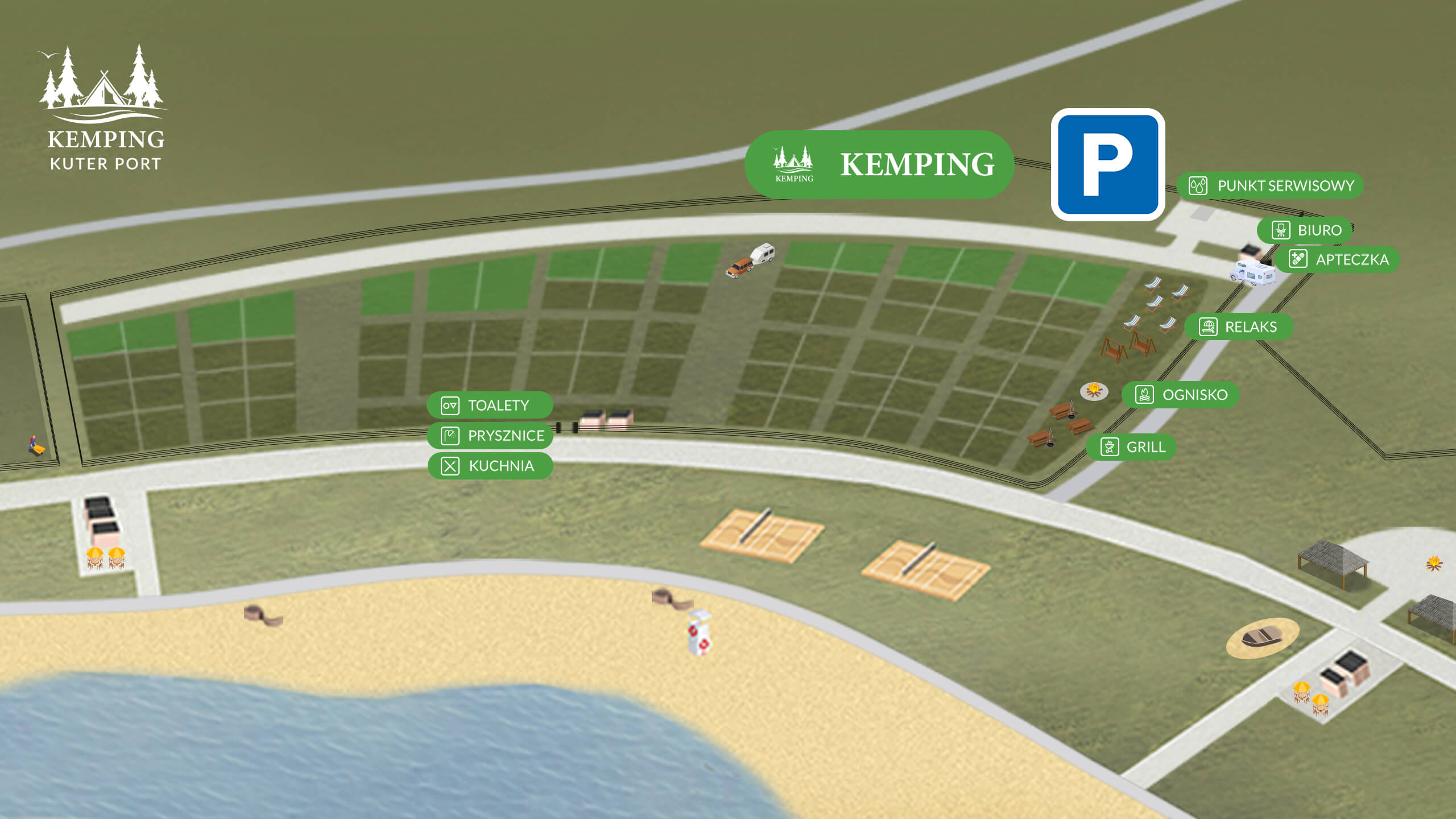 Plan Strefy Kemping