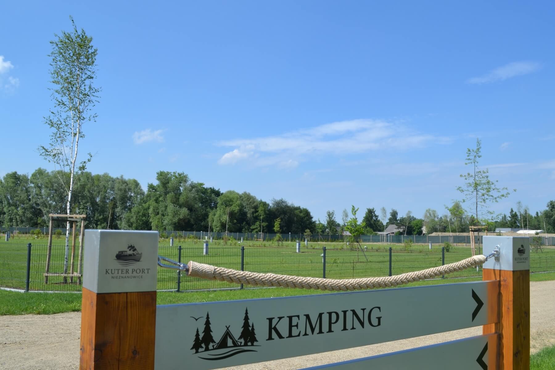 Kemping – nowa strefa Kuter Portu